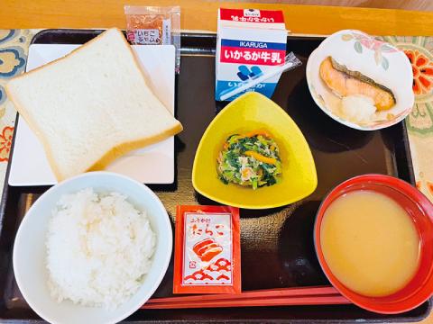 高槻市の有料老親ホームココリ 朝食例01