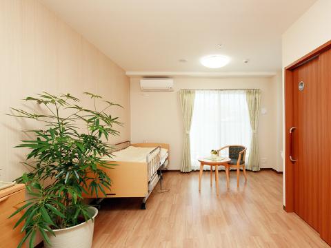 高槻市の有料老親ホームココリ 居室